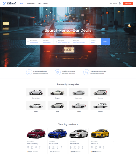 Carmap - Car Marketplace